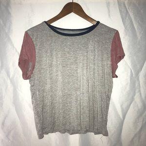 Short sleeve top